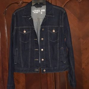 Gap 1969 Dark blue Denim Jean Jacket